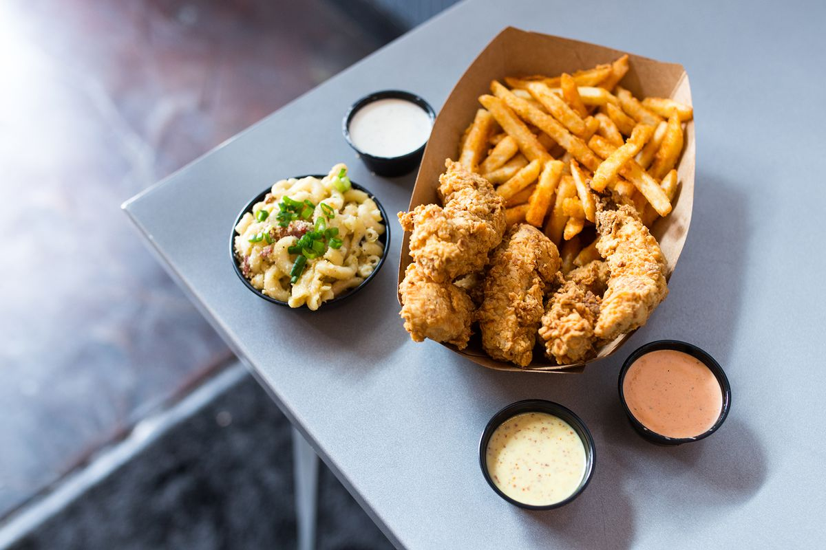 Chicken Tender Restaurant Happy Chicks Expands With New