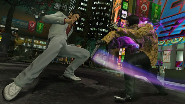 Kiryu brought his fists to a knife fight with Majima.