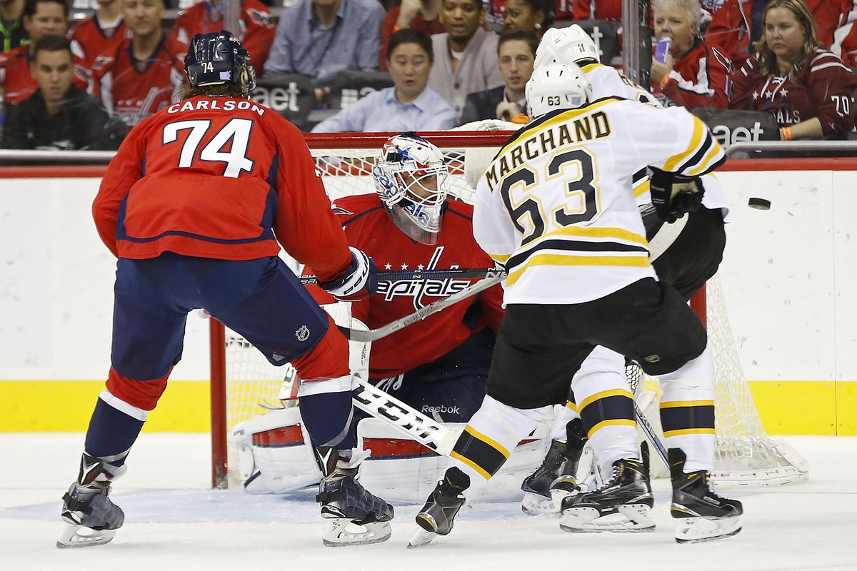 No, you WON'T be seeing Brad Marchand this evening