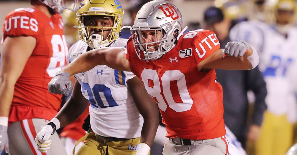 Brant Kuithe has best night for a Ute tight end since 2013 in win over UCLA - Deseret News
