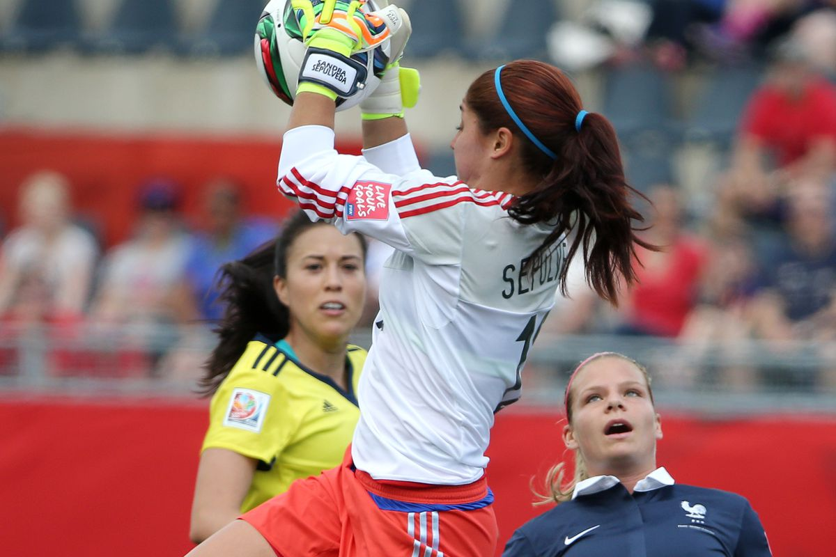 Sepulveda stole the show as Colombia handed France an unexpected loss
