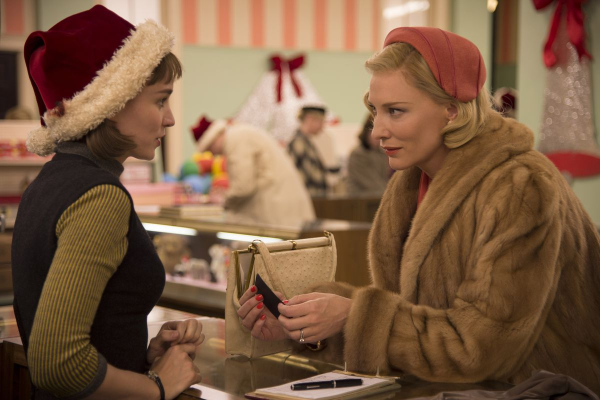Despite receiving two nominations for its leads, Rooney Mara (left) and Cate Blanchett, Carol was left out of the SAG Awards' top category.