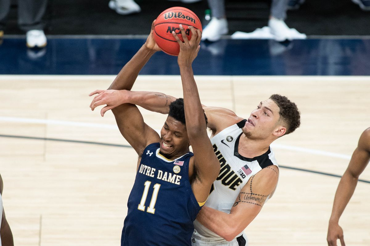 NCAA Basketball: Notre Dame at Purdue