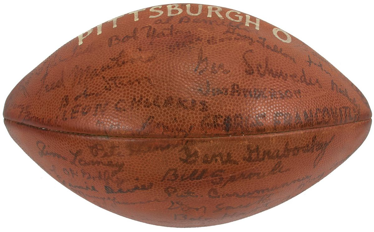 Interested in some Syracuse football   Ernie Davis items up for ... d717d450a