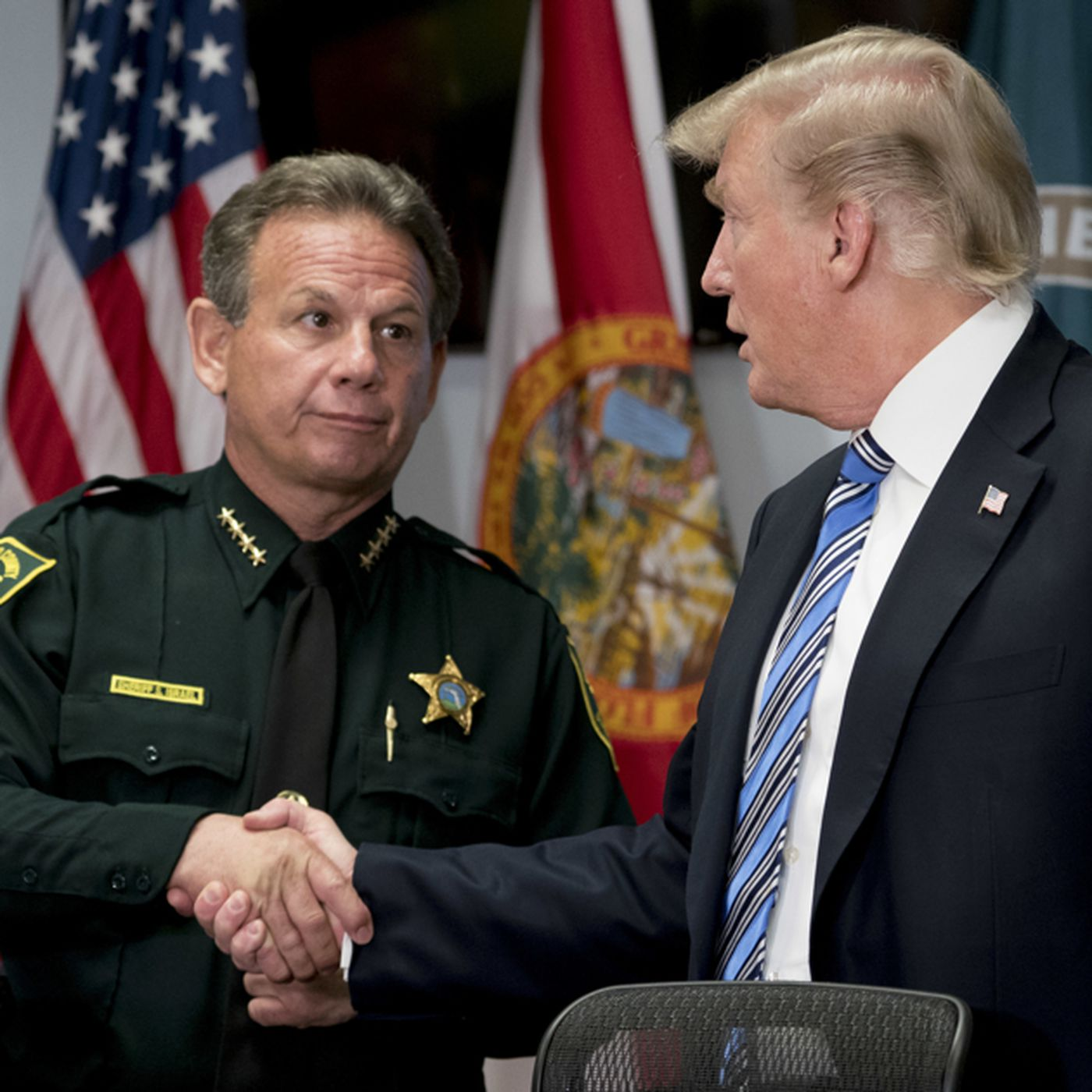 Florida sheriff on the defensive after school shooting