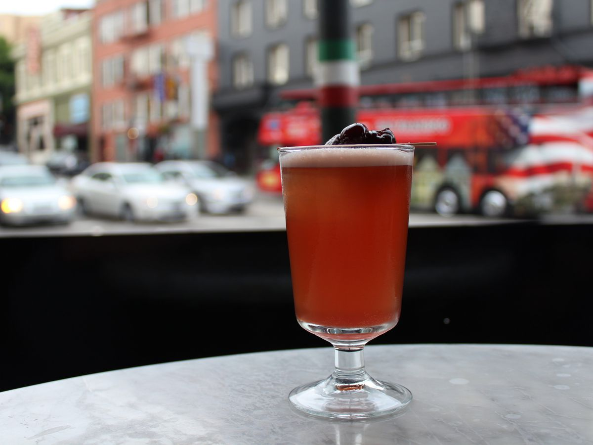 Cherry Bounce at Comstock Saloon