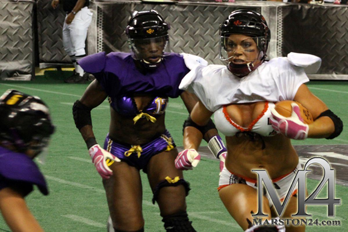 Tiana Michaels of the LFL's Baltimore Charm (photo credit: David Marston)
