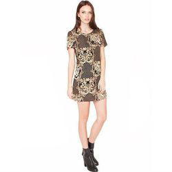 """<a href=""""http://www.pixiemarket.com/leopard-chain-dress.html"""">Leopard chain dress</a>, $59 <br></br> <b>Pixie Market:</b> Trendy dresses that are less expensive than Urban Outfitters found here."""