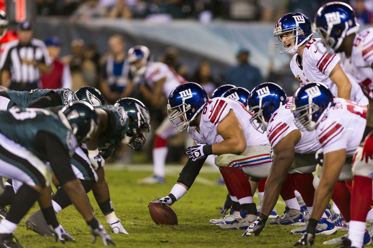 The Giants need to upgrade a porous offensive line