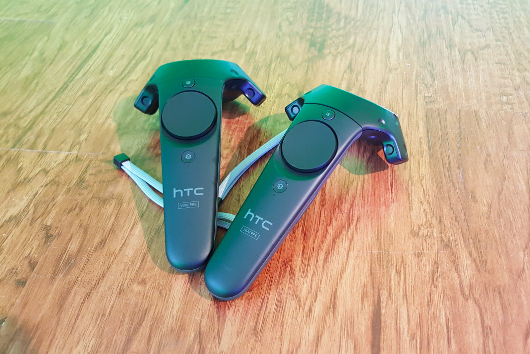 Vive controllers