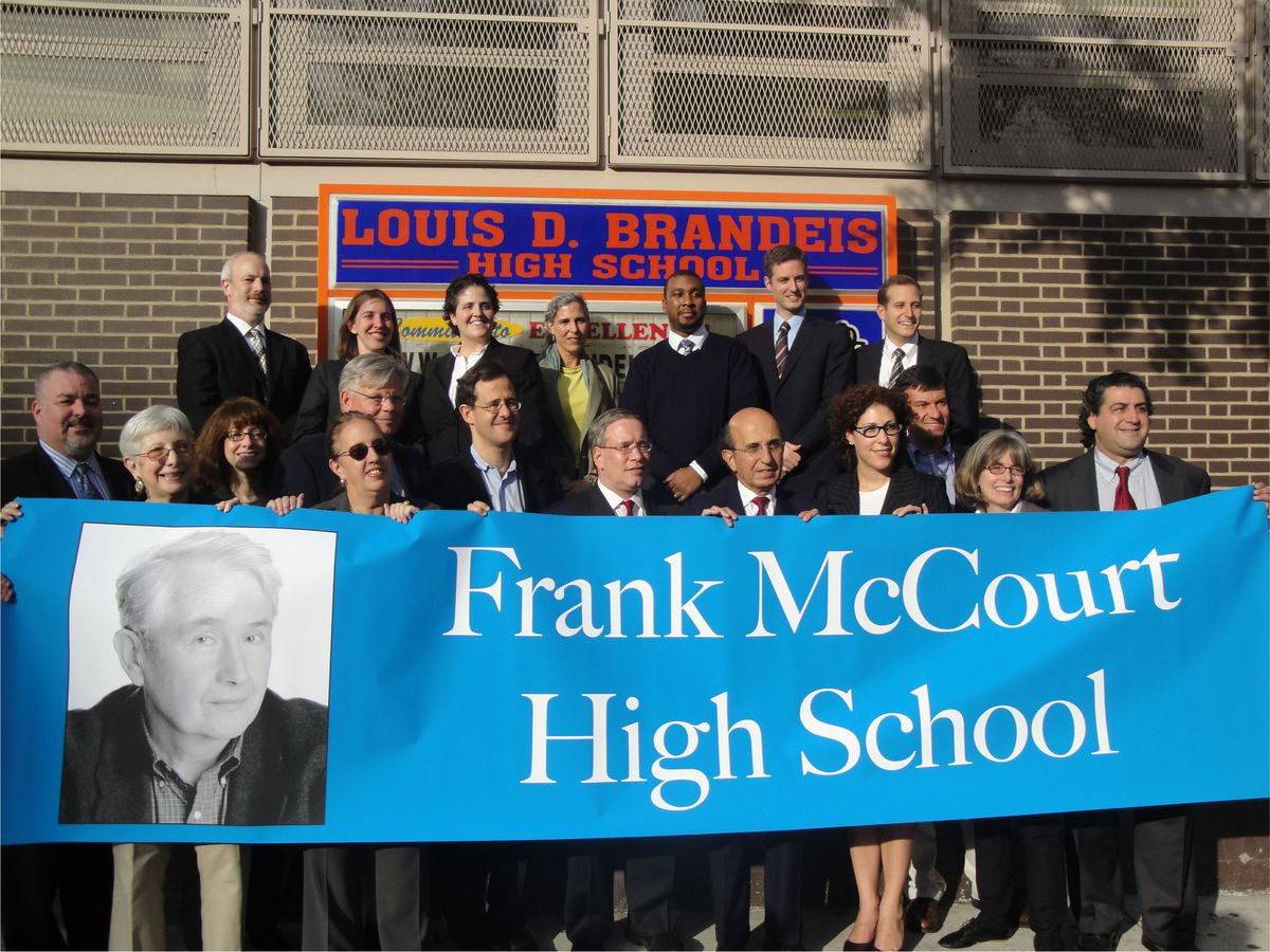 DOE officials and parent activists have called the planning process of the new Frank McCourt High School a model for parent involvement in new school building.