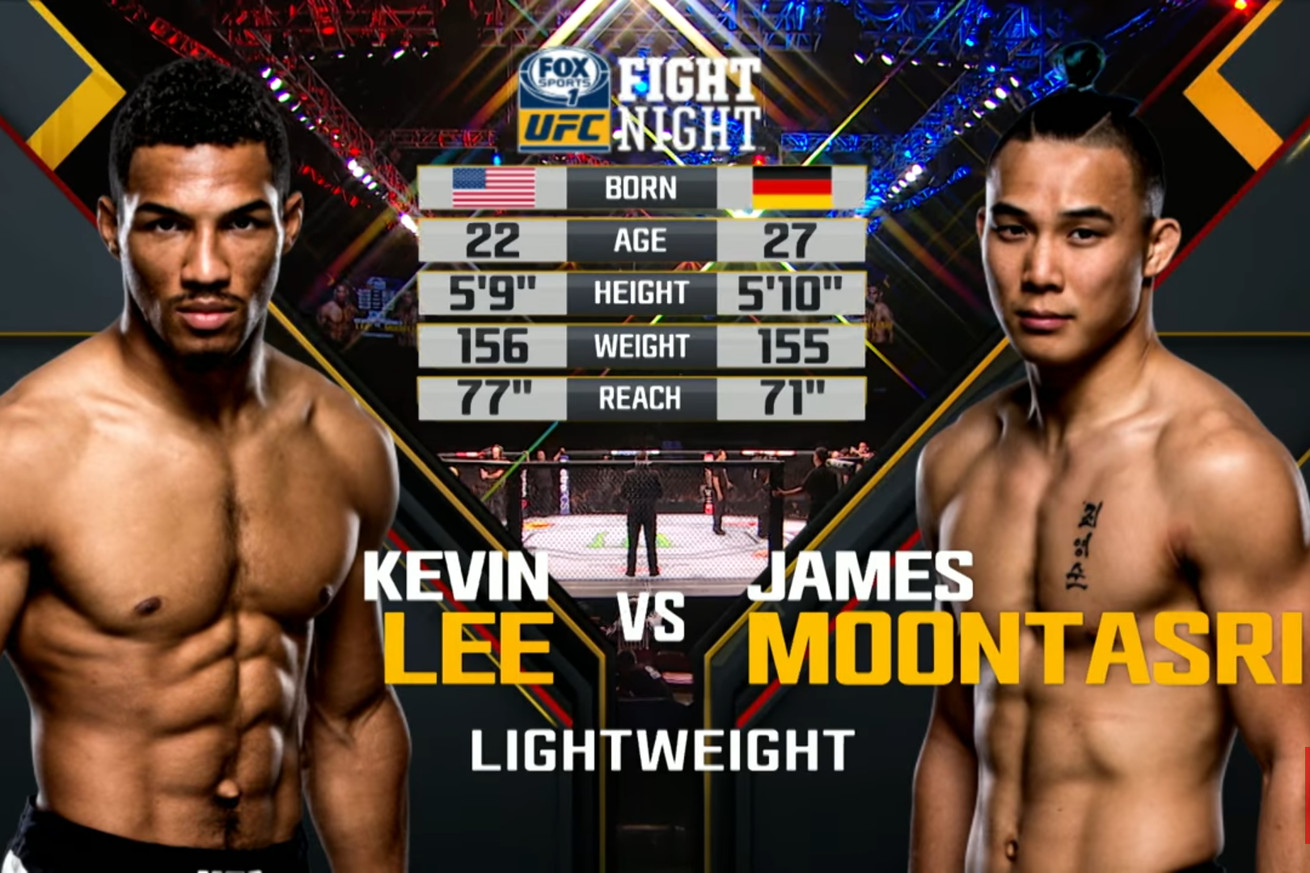 Free fight: Watch Kevin Lee choke out James Moontasri at UFC Fight Night 71 (Video)