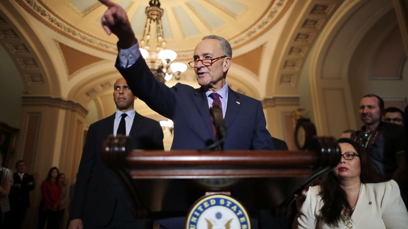 Chuck Schumer interview on Senate elections, Medicare-for-all, and more