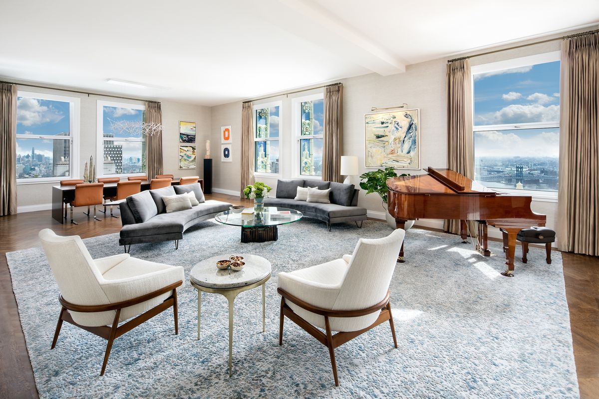 The woolworth building s luxury condos get new model for The model apartment