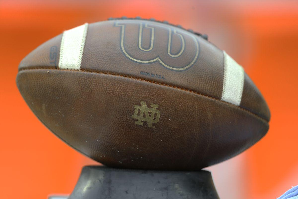 NCAA Football: Notre Dame at Pittsburgh