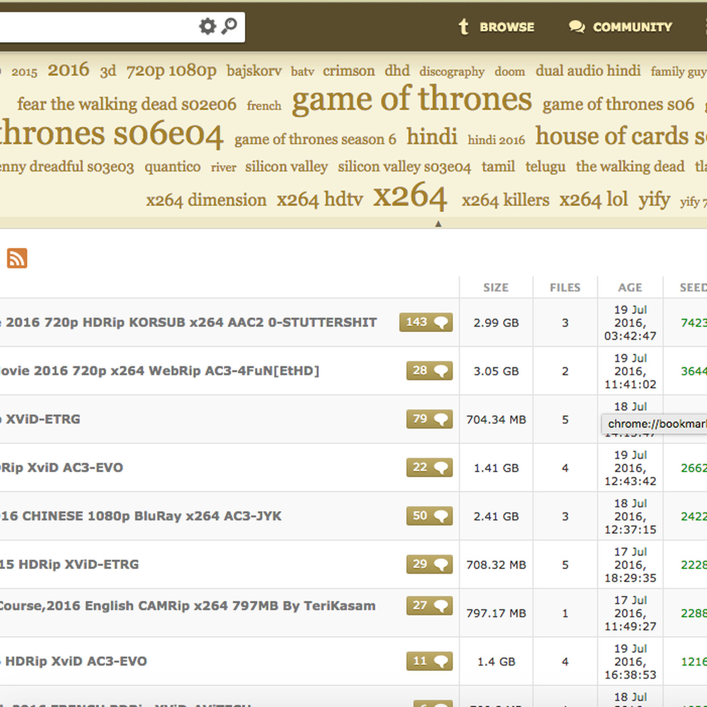 KickassTorrents resurfaces online, as all piracy sites do