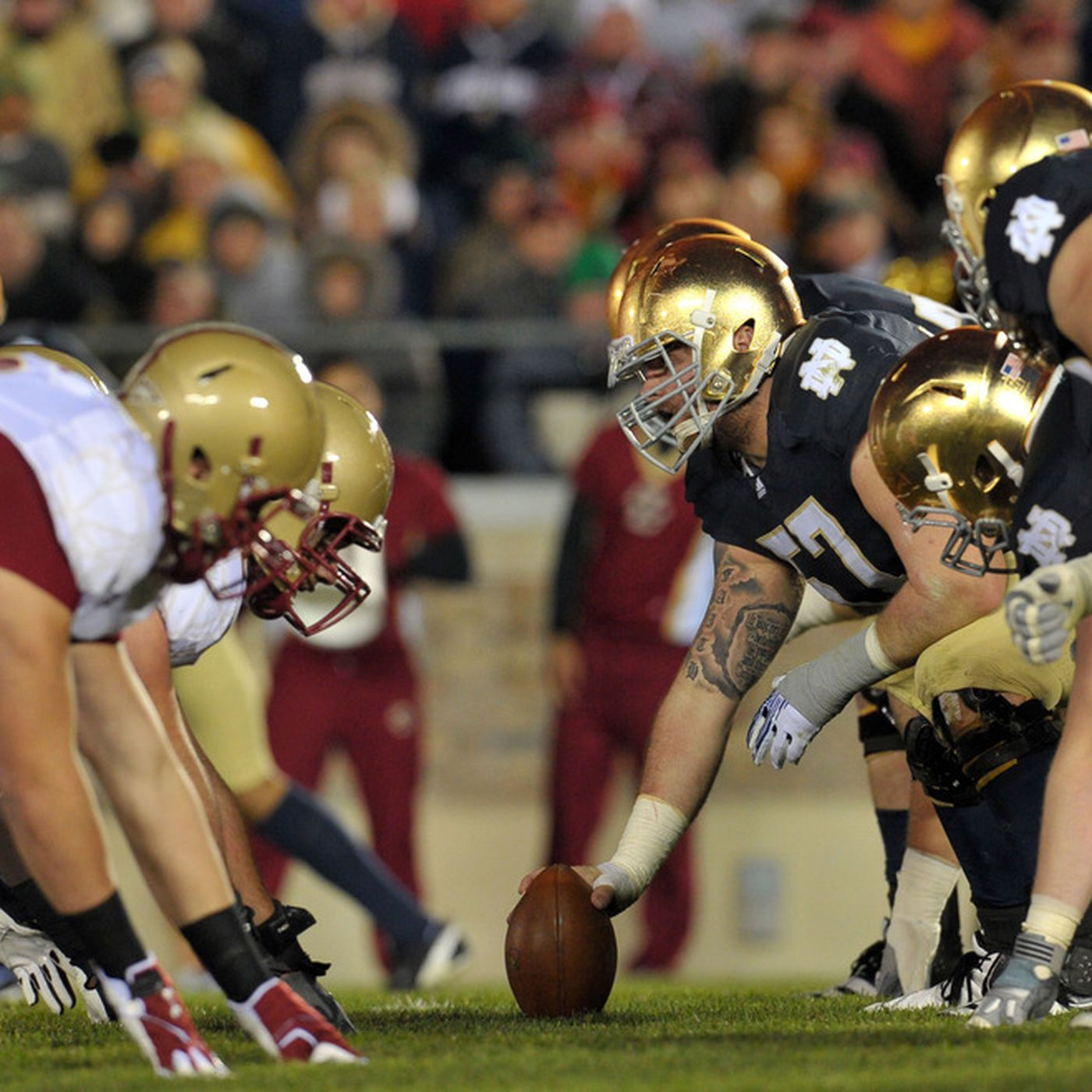 Acc Notre Dame Finalize Scheduling Agreement For Games Through 2025 Bc Interruption