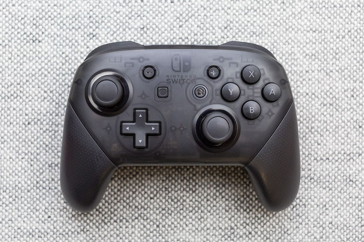 The Nintendo Switch Pro Controller is the best way to play
