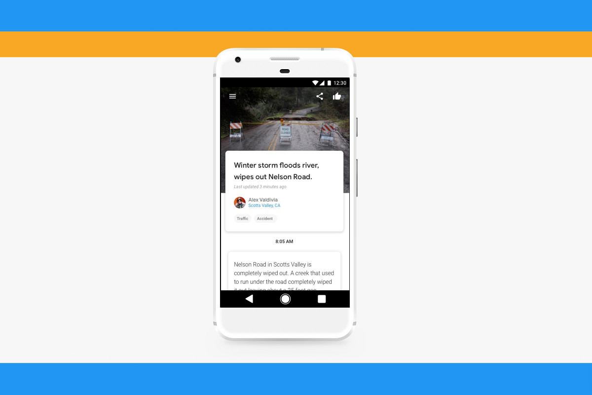 Google's 'Bulletin' app will help you report stories