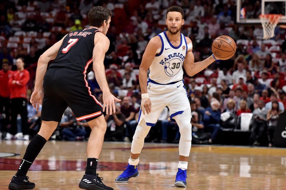 NBA: Golden State Warriors at Miami Heat