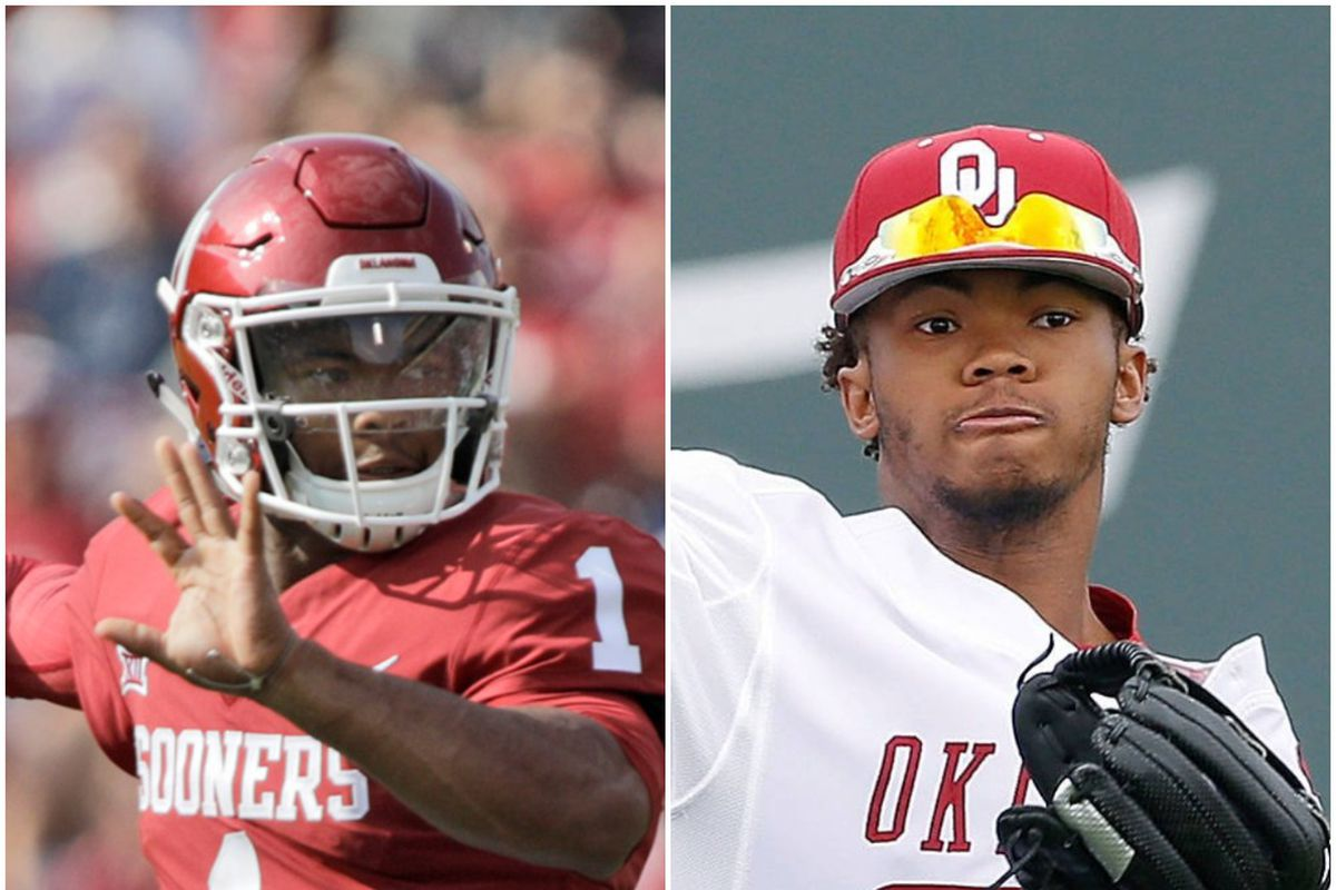brand new bb05e 7aa31 Kyler Murray picked in MLB Draft by A's. What's next for ...