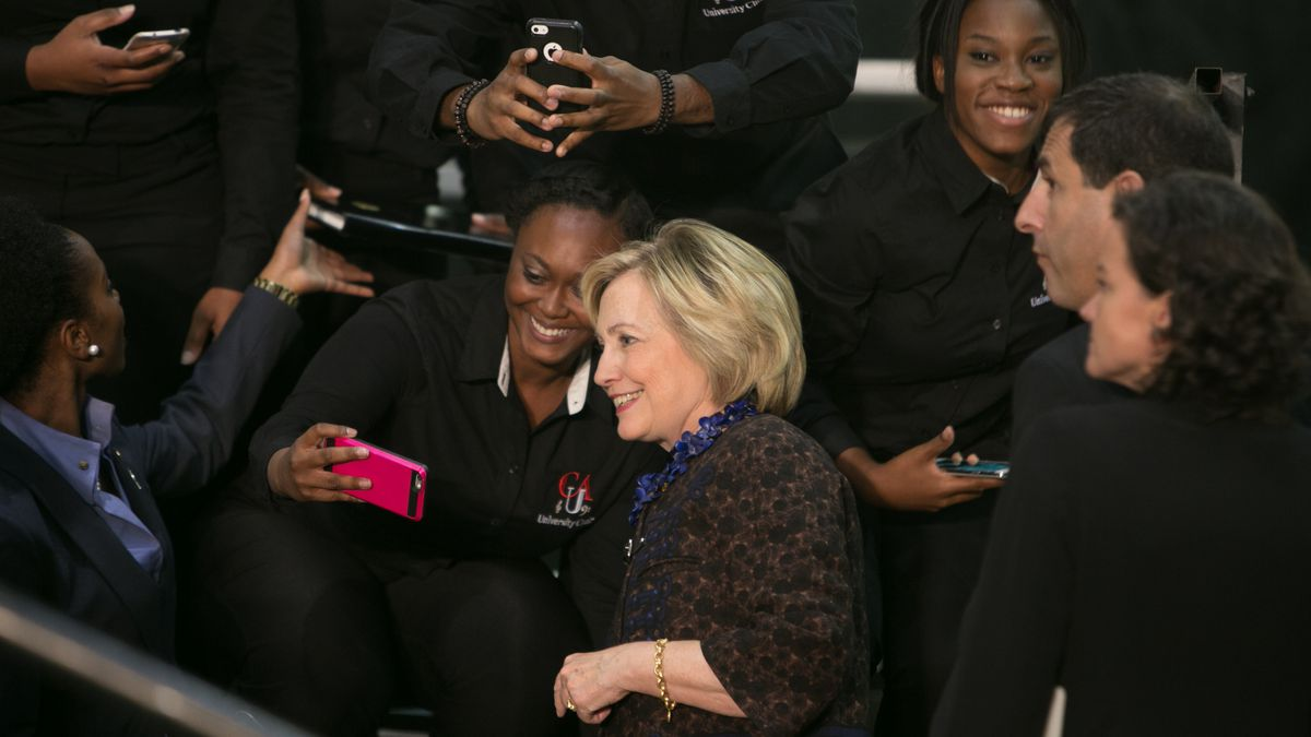 An African Americans for Hillary rally in October 2015.