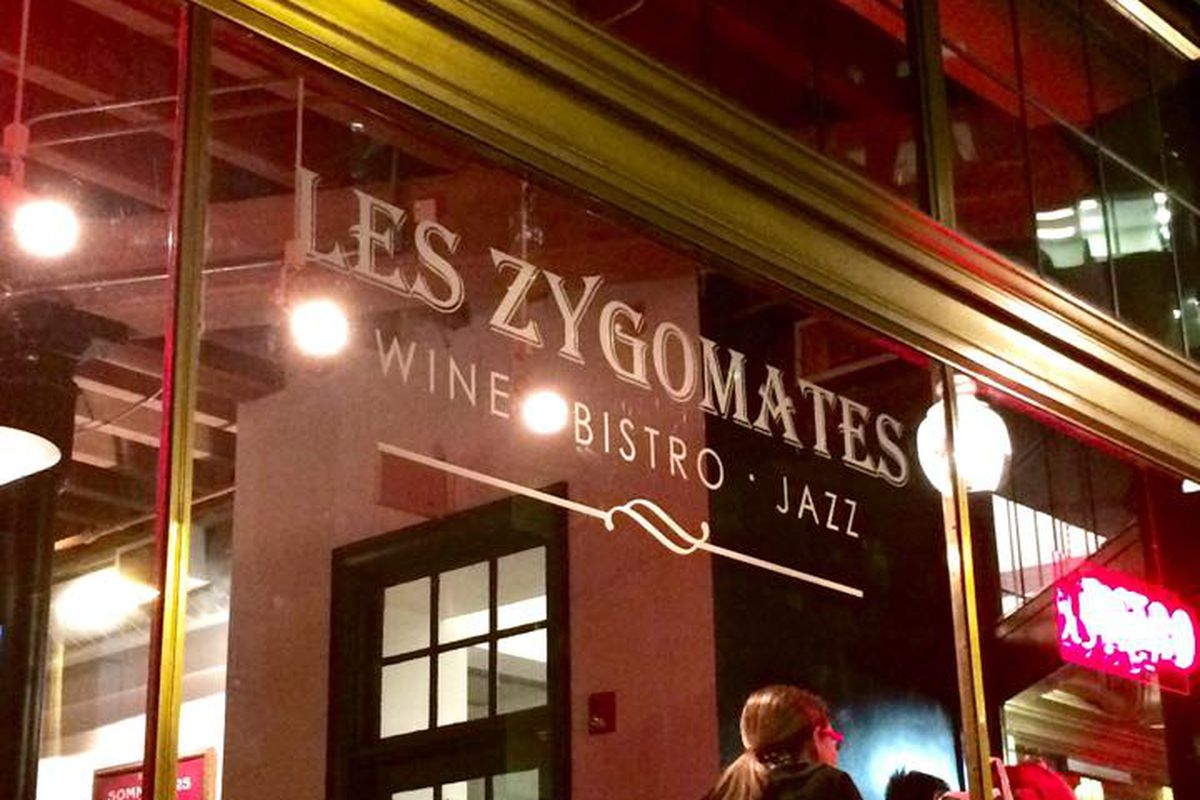 Part of the new look at Les Zygomates