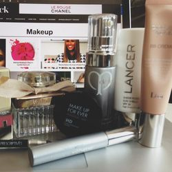 """My in-laws are in town from St. Louis, Missouri so we spent Saturday touring. Here are my everyday makeup essentials. After cleansing my face, I always apply <b>Cle de Peau Beaute</b> <a href=""""http://www.barneys.com/on/demandware.store/Sites-BNY-Site/defa"""