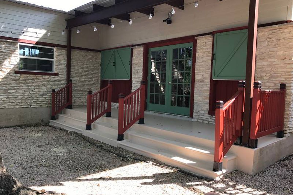 sunset valley bar and beer garden the barn finally opens eater