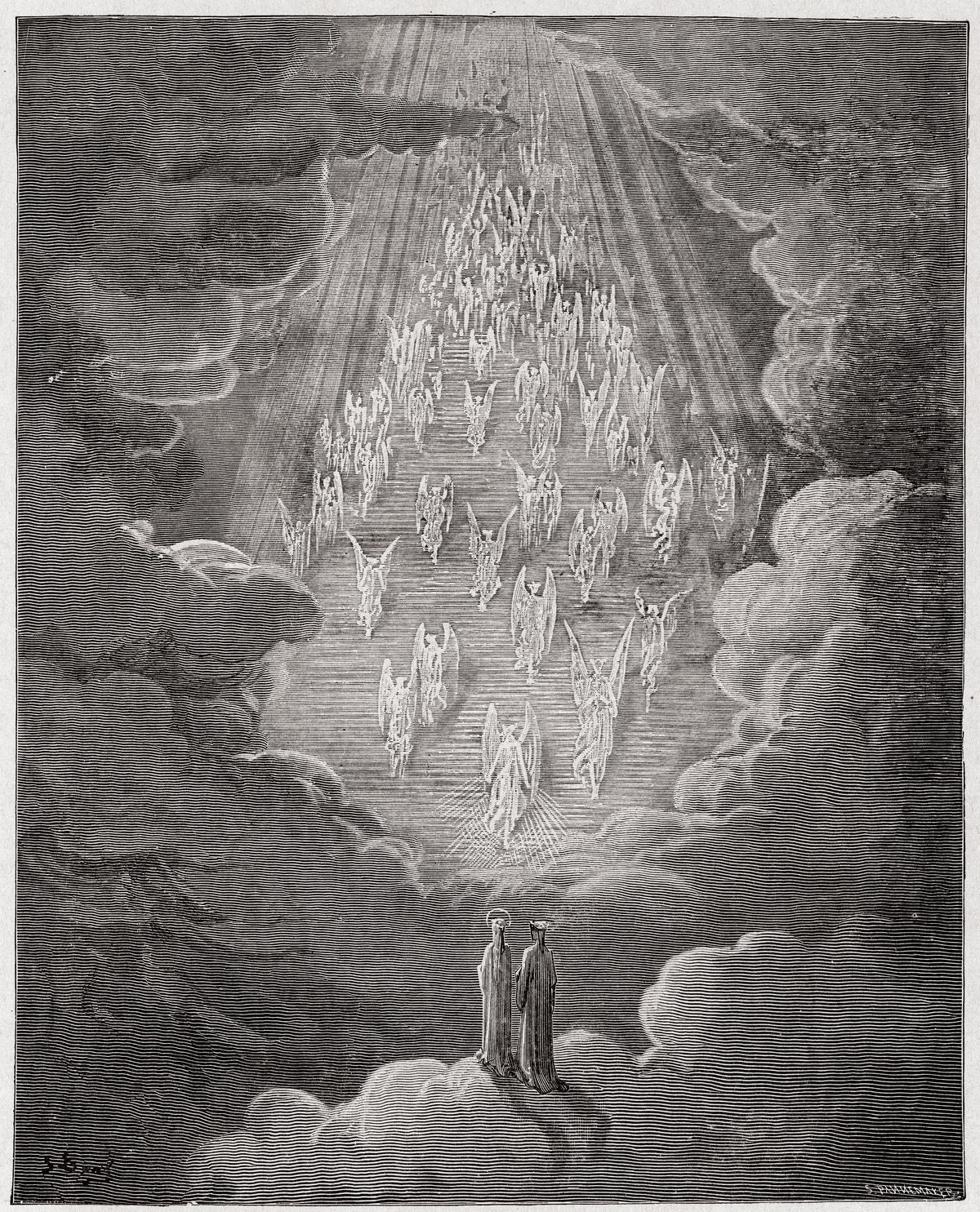 Illustration from Dante's Paradiso