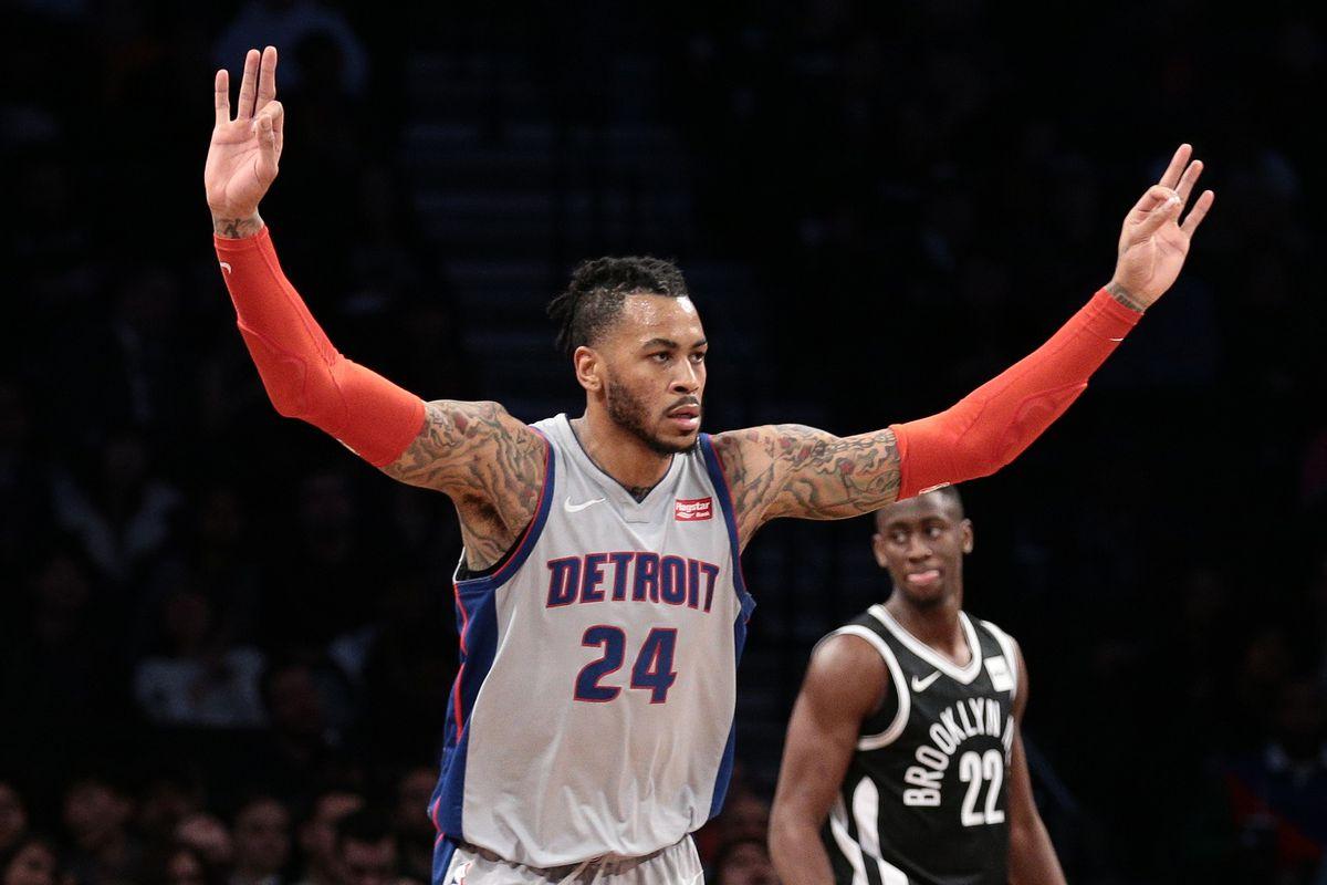 NBA: Detroit Pistons at Brooklyn Nets