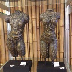 Antique volcanic ash statues, $49.75 each (was $99.50)