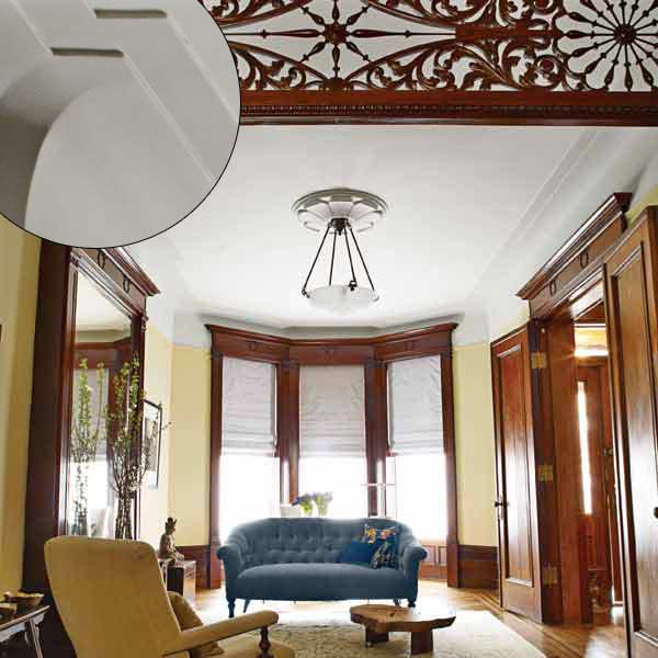Large Scale Molding in Brownstone