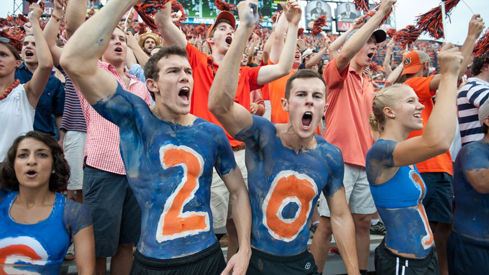Outsports colors show their fans true College football -