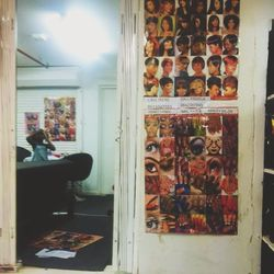 We explore Cape Town and go in and out of markets that sell hand made items, food, and some had salons! Most of them offered a trifecta of hair braiding, eye lash extensions, and nails. The first one I see offers a variety of french manicure style designs