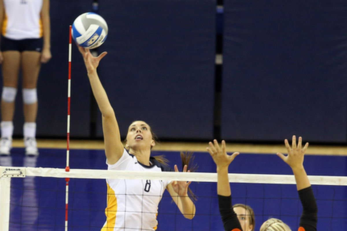 Danielle Carlson looks to continue her strong play against UWM.