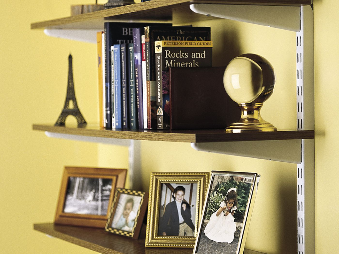 Image of: How To Install Wall Mounted Shelves This Old House