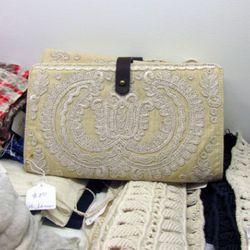 Ulla Johnson clutch, $80, great for a mid-summer wedding