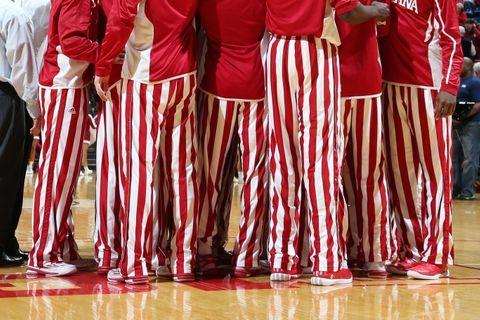 IU basketball pants