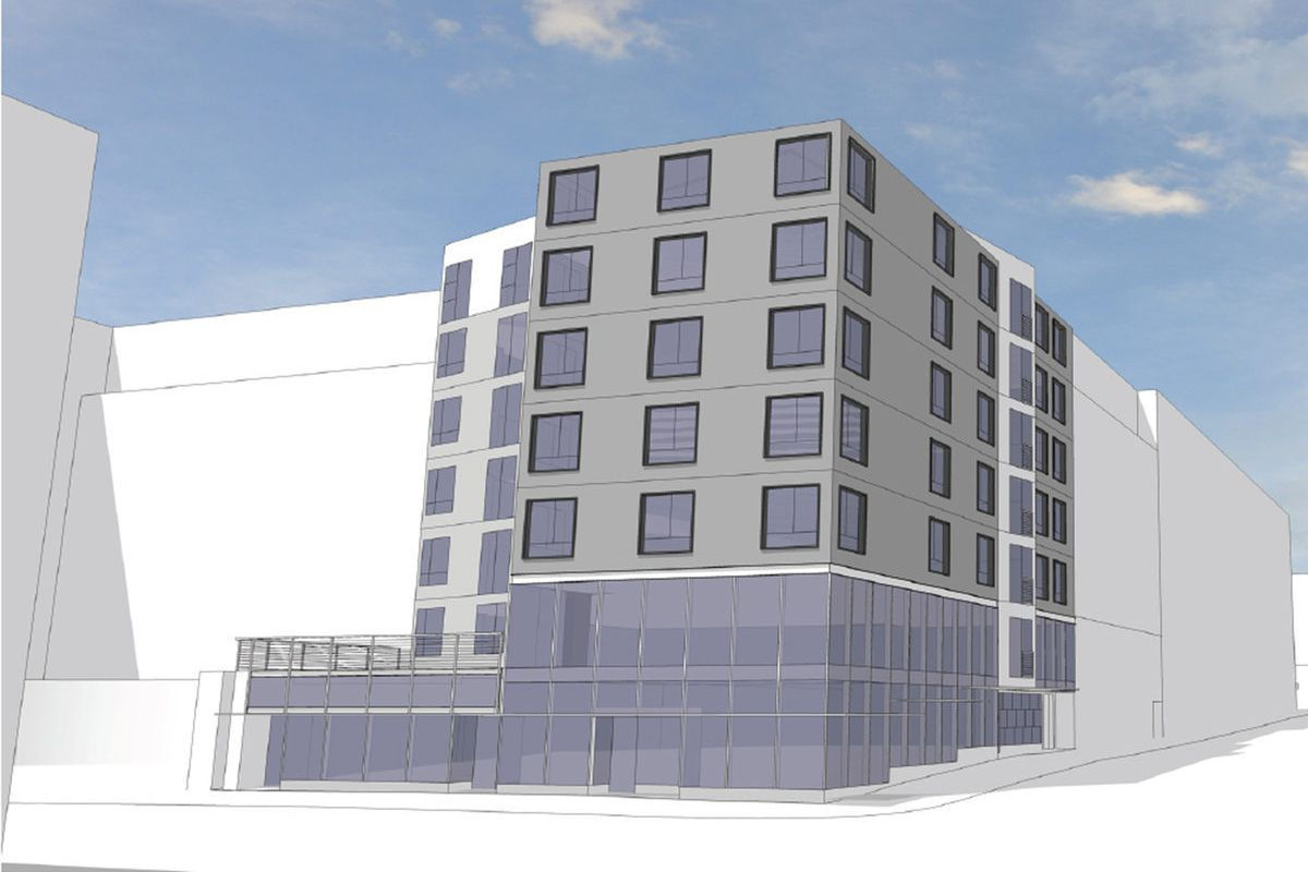 Developer Johnson Carr And Architect Skidmore Janette Bring Their Plans For A 90 Unit Apartment Building At 722 E Pike St Before The Design Review Board