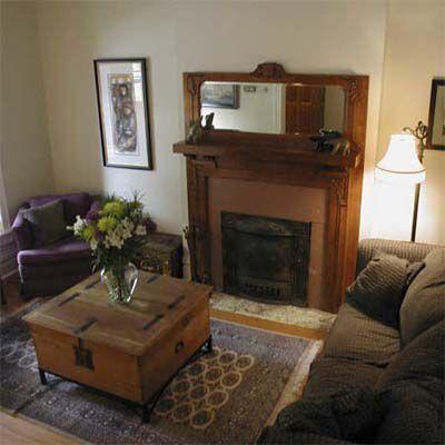 After House Staging: Clean Livingroom