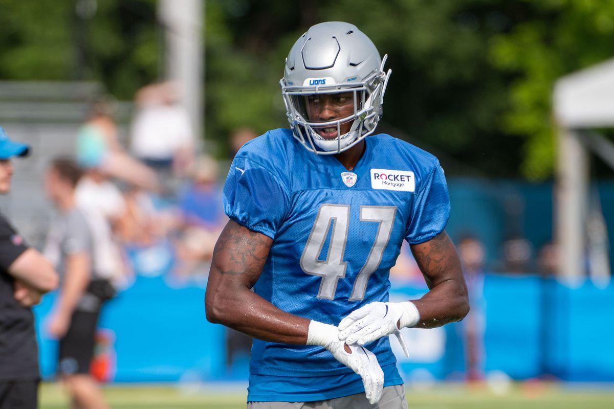 NFL: JUL 26 Detroit Lions Training Camp
