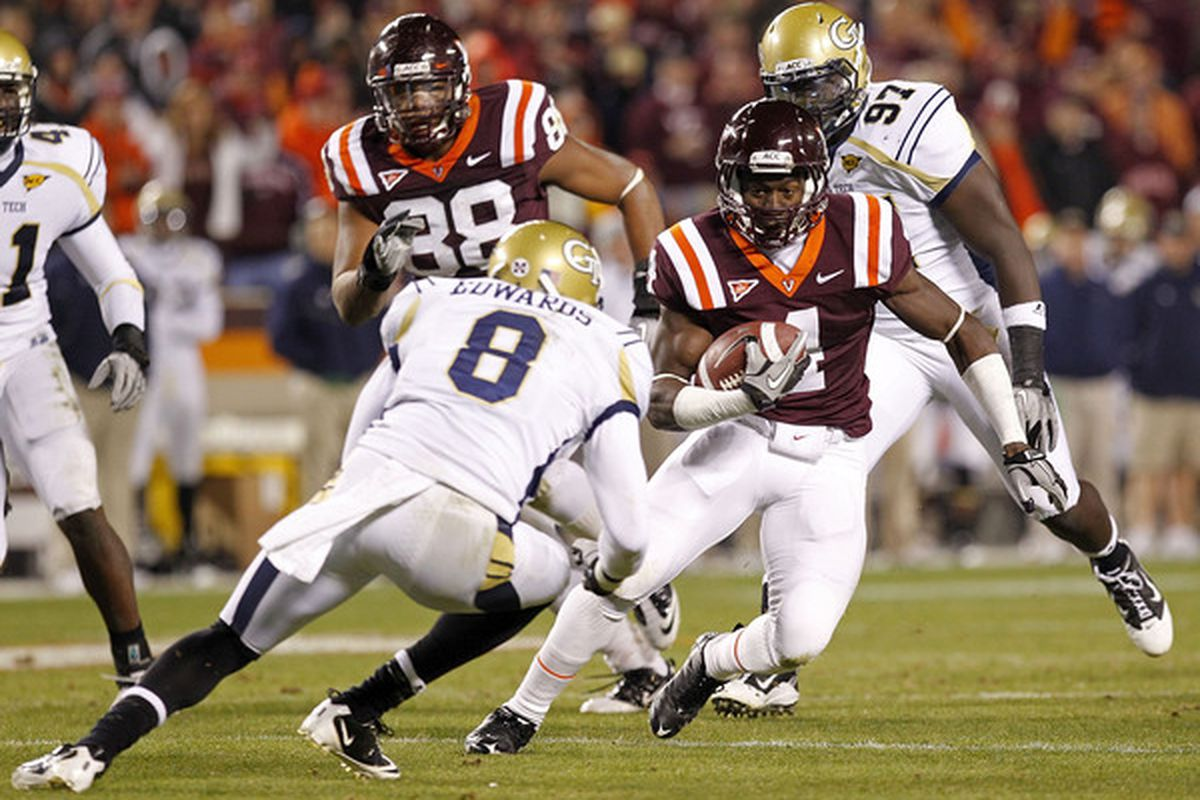 online retailer f981f c31a5 Virginia Tech Vs. Georgia Tech 2011  Series History And Rivalry Notes