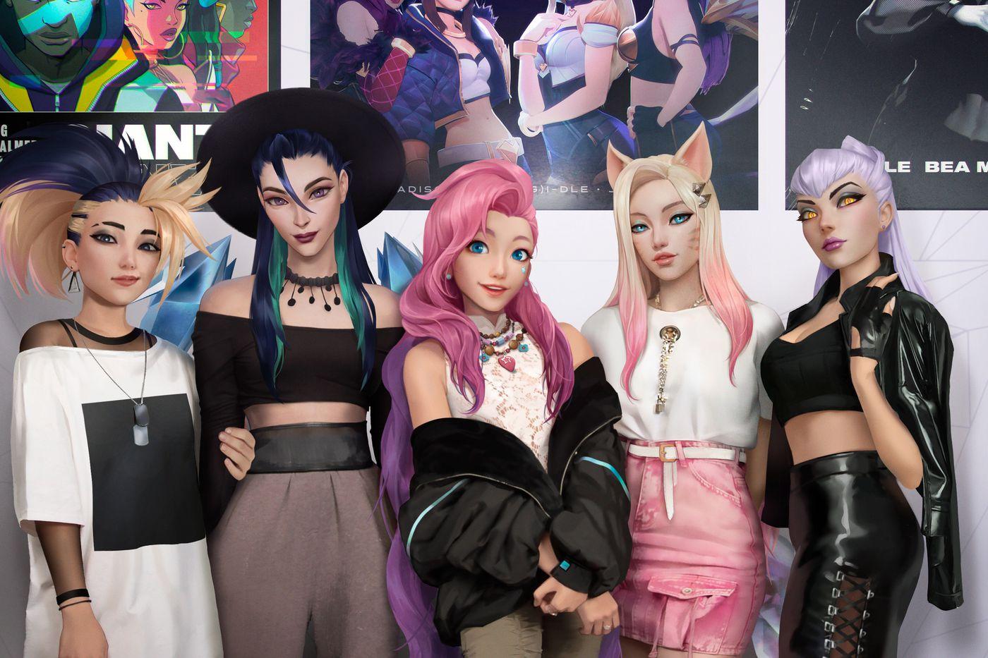 League of Legends' virtual K-pop group K/DA is releasing its first album in November - The Verge