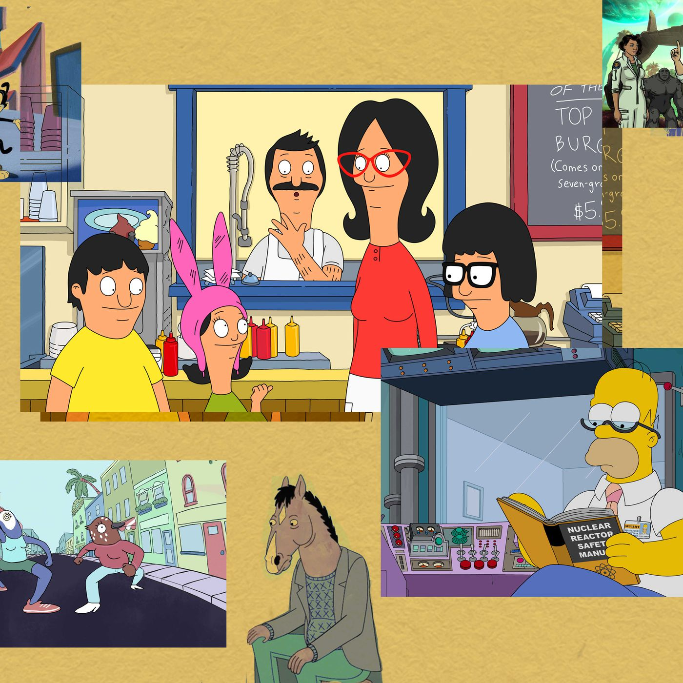25 Cartoons To Stream And Get Obsessed With Simpsons Bob S Burgers And More Vox