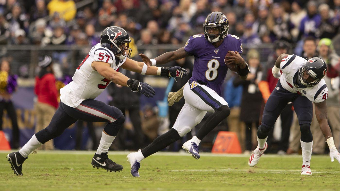 Ravens vs. Texans: Lamar Jackson Has Blown Open the MVP Debate