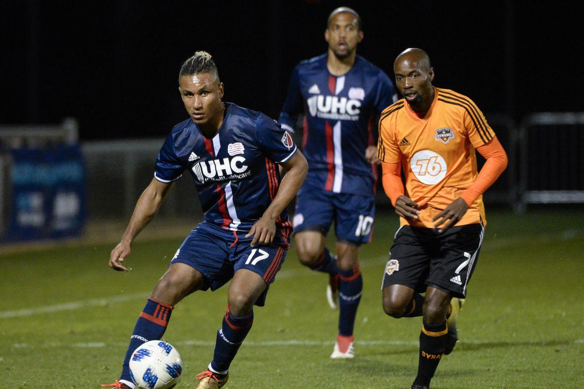 MLS: Houston Dynamo vs New England Revolution