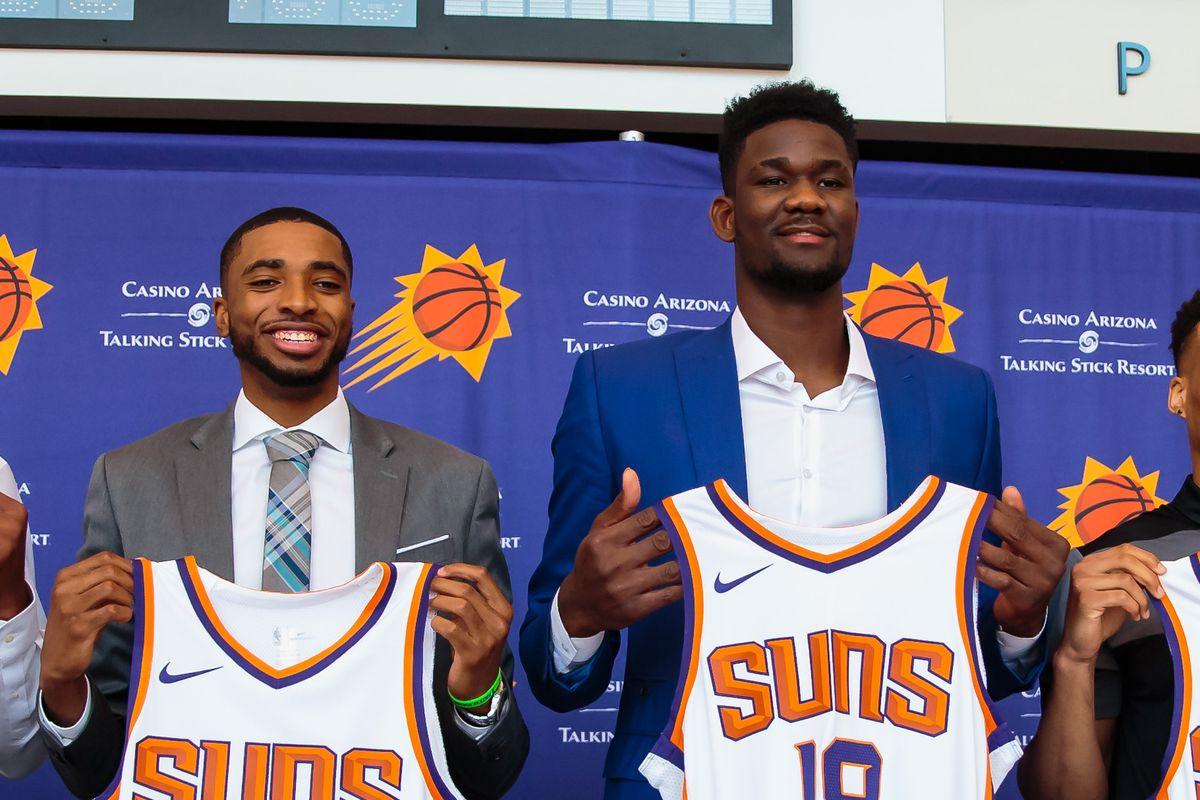 check out 077e2 f0a2d Deandre Ayton finalist for Rookie of the Year; Mikal Bridges ...