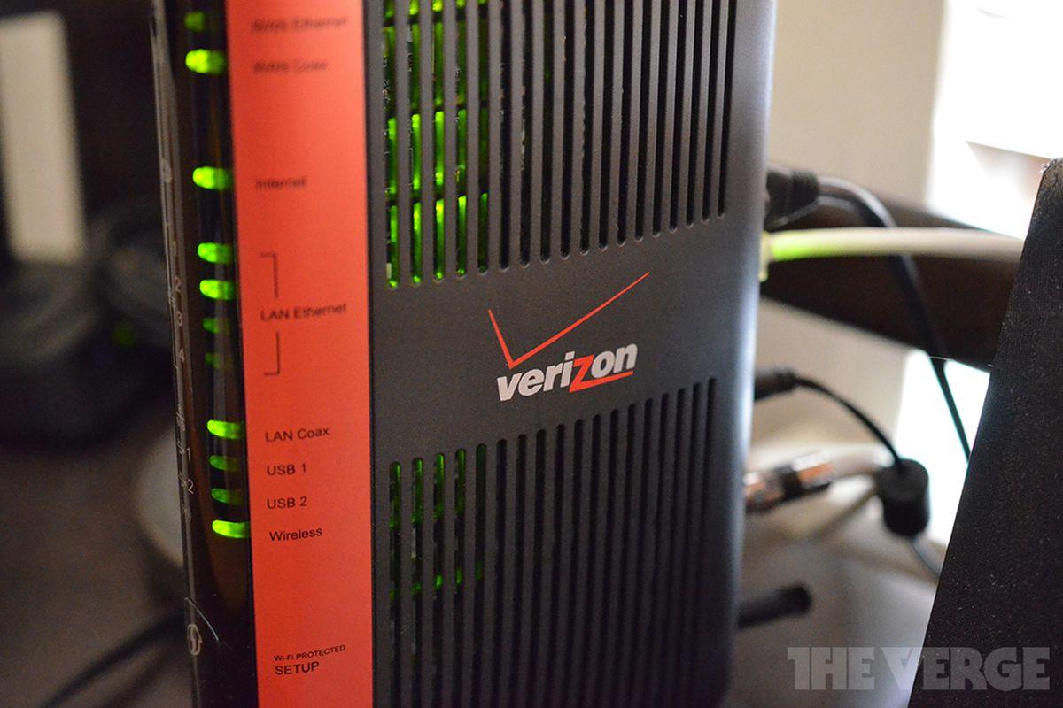 Verizon FiOS Internet Hook up débat datant