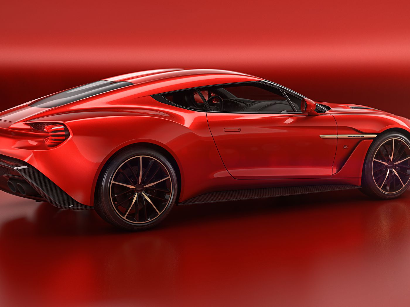 Aston Martin S Most Beautiful Car In Years Is The Vanquish Zagato The Verge